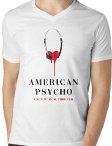 American Psycho Design Mens V-Neck T-Shirt