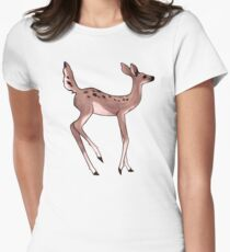 Max's Deer Shirt (High-Res) Womens Fitted T-Shirt