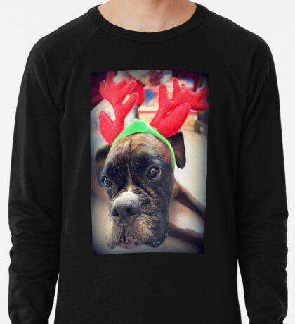 Es ist diese Zeit des Jahres wieder ... Bah Humbug ... - Boxer Dogs Series Leichtes Sweatshirt