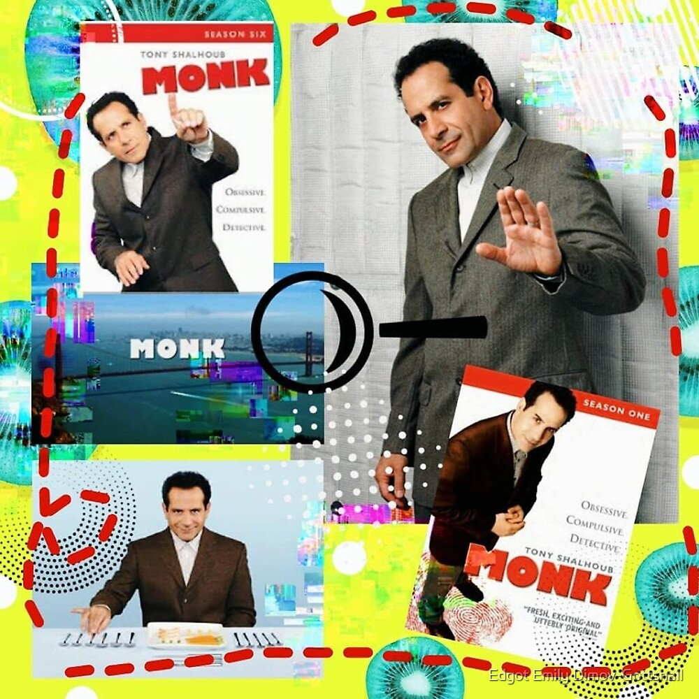 Monk Detective Adrian Monk TV homage by Edgot Emily Dimov-Gottshall