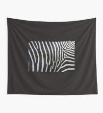 Zebramuster in Schwarz und Weiß .... Wandbehang
