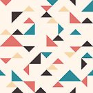 «Triángulos de terrazo» de nadyanadya