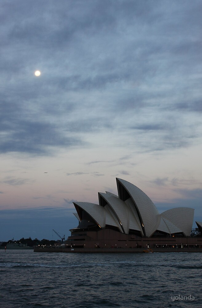 Opera by the Moon by yolanda