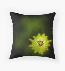...greener on the other side... Throw Pillow