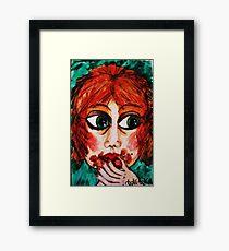 Cherry Chocolate Framed Print