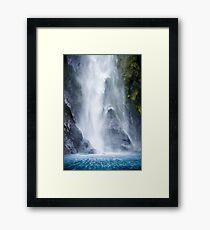 Wraiths of the Falls Framed Print