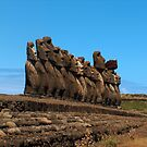Ahu Tongariki, Easter Island by Martyn Baker | Martyn Baker Photography