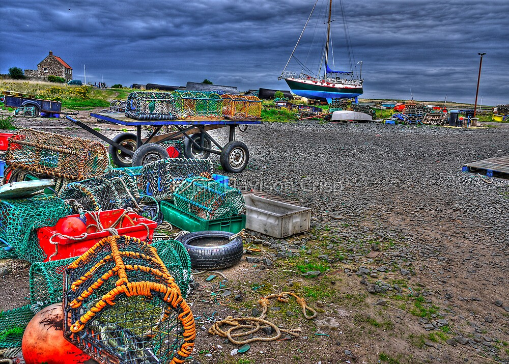 A Fisherman's Office by Ryan Davison Crisp