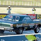 Plymouth Drag Car by inmotionphotog