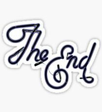 THE END! Sticker