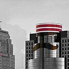 Cincinnati AllStars Mustache  PIllbox Hat by Randy Branham