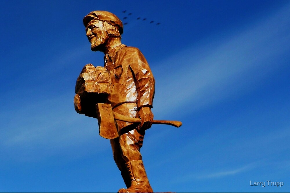 The Woodchopper by Larry Trupp