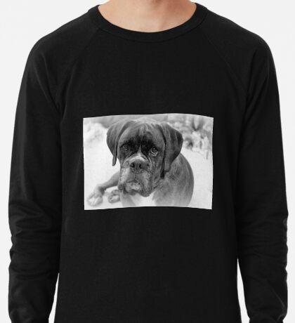 Betrachten meiner neuen Jahre Auflösung ~ Boxer Dogs Series Leichtes Sweatshirt