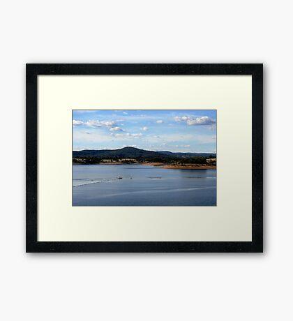 Sugarloaf Reservoir Framed Print