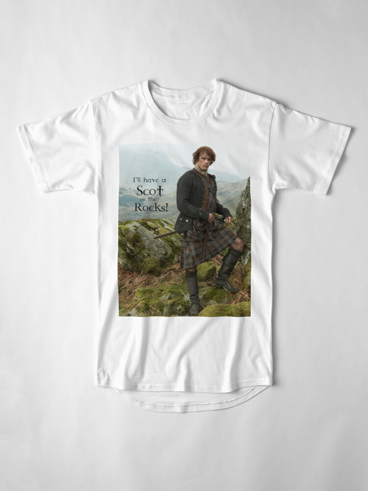 Alternate view of I'll have a Scot on the Rocks!  Long T-Shirt