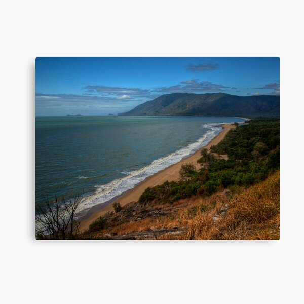 Panoramic view from Rex lookout, Queensland Canvas Print