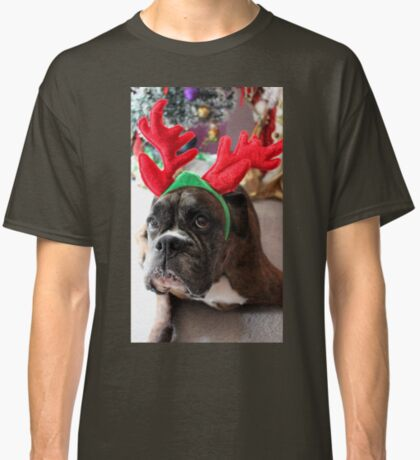 Rentier dieses Jahr? ...... Alles für dieses Plätzchen! - Boxer-Hunde-Reihe Classic T-Shirt