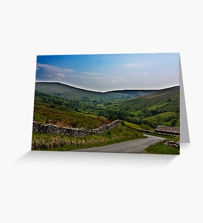 Road to Dent Station Greeting Card