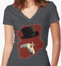 I Write Sins Not Tragedies Women's Fitted V-Neck T-Shirt