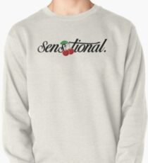"[blk text] ""sensationelle"" Kirsche Sweatshirt"