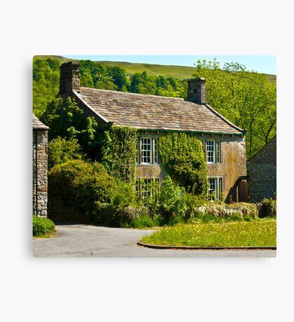 Ivy Cottage Arncliffe Canvas Print