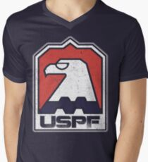 USPF Men's V-Neck T-Shirt