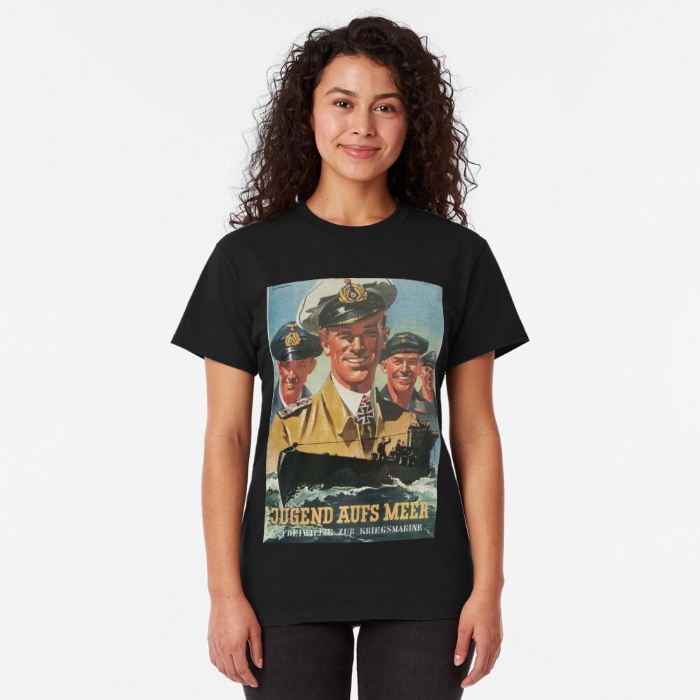 Volunteer for the Navy...vintage German Kriegsmarine Classic T-Shirt
