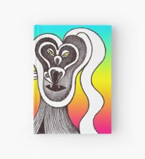 Extroflexion of the beloved (surreal illustration) Hardcover Journal
