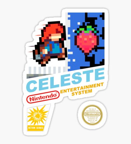 Celeste - NES Cover