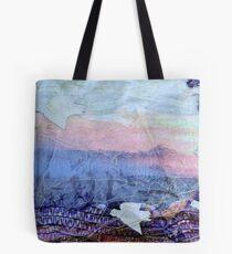 Starlings over the Tor - Glastonbury Tote Bag