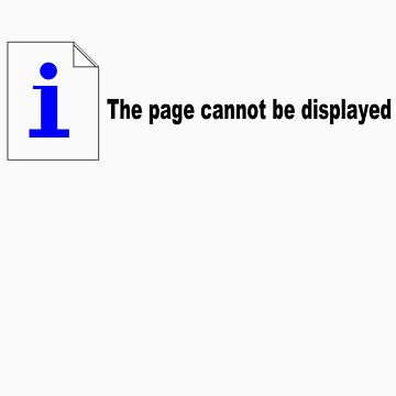 Page cannot be displayed by randomdumping
