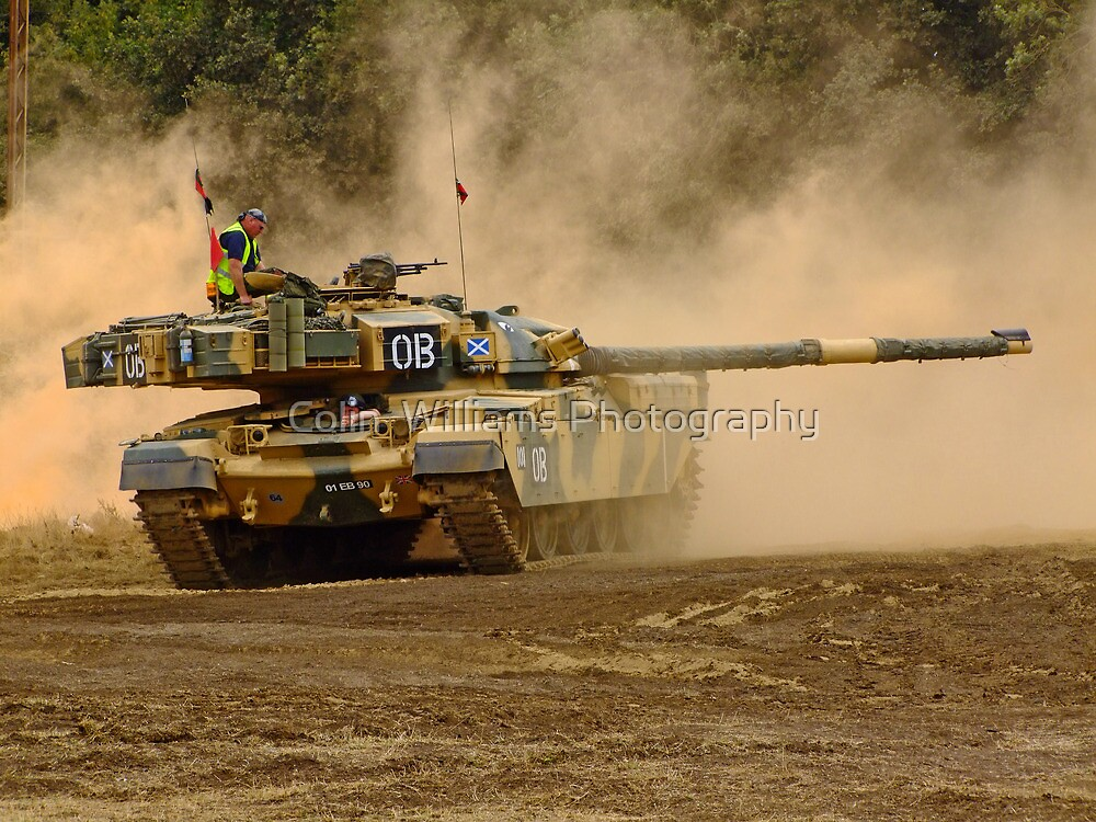 Cheftain Tank - War and Peace by Colin  Williams Photography