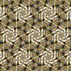 Winter Shades of Gray Pattern T1 by webgrrl