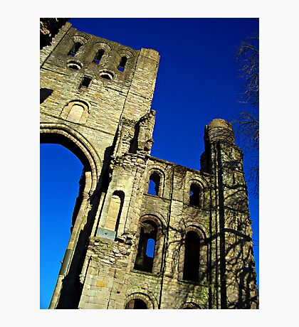 Kelso Abbey In Scotland. Photographic Print