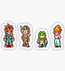 Chrono, Lucca, Frog, Marle Sticker