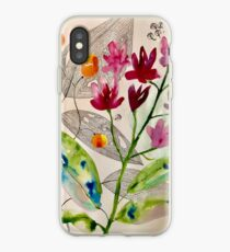 botanical composition iPhone Case