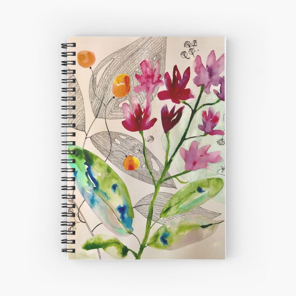 botanical composition Spiral Notebook