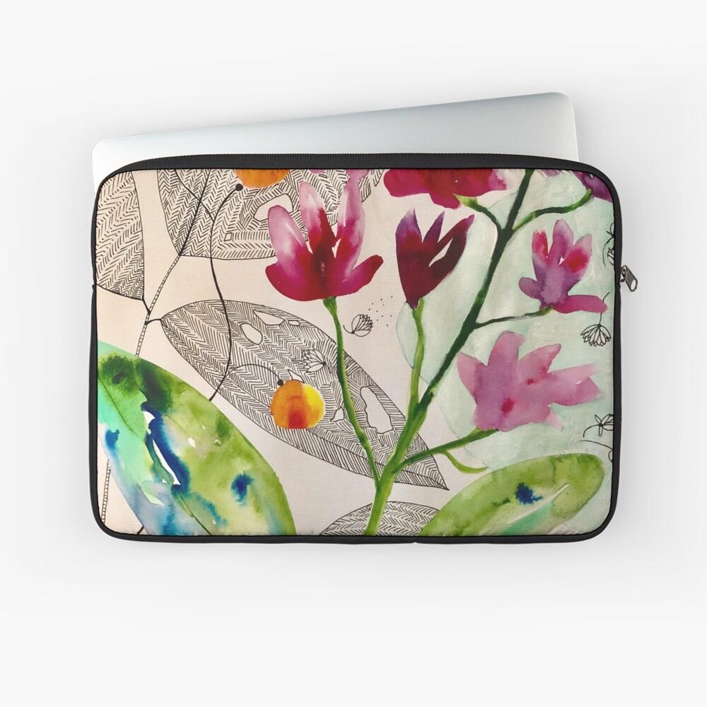 botanische Zusammensetzung Laptoptasche
