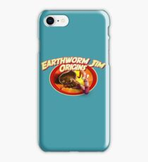 earthworm jim origin iPhone Case/Skin