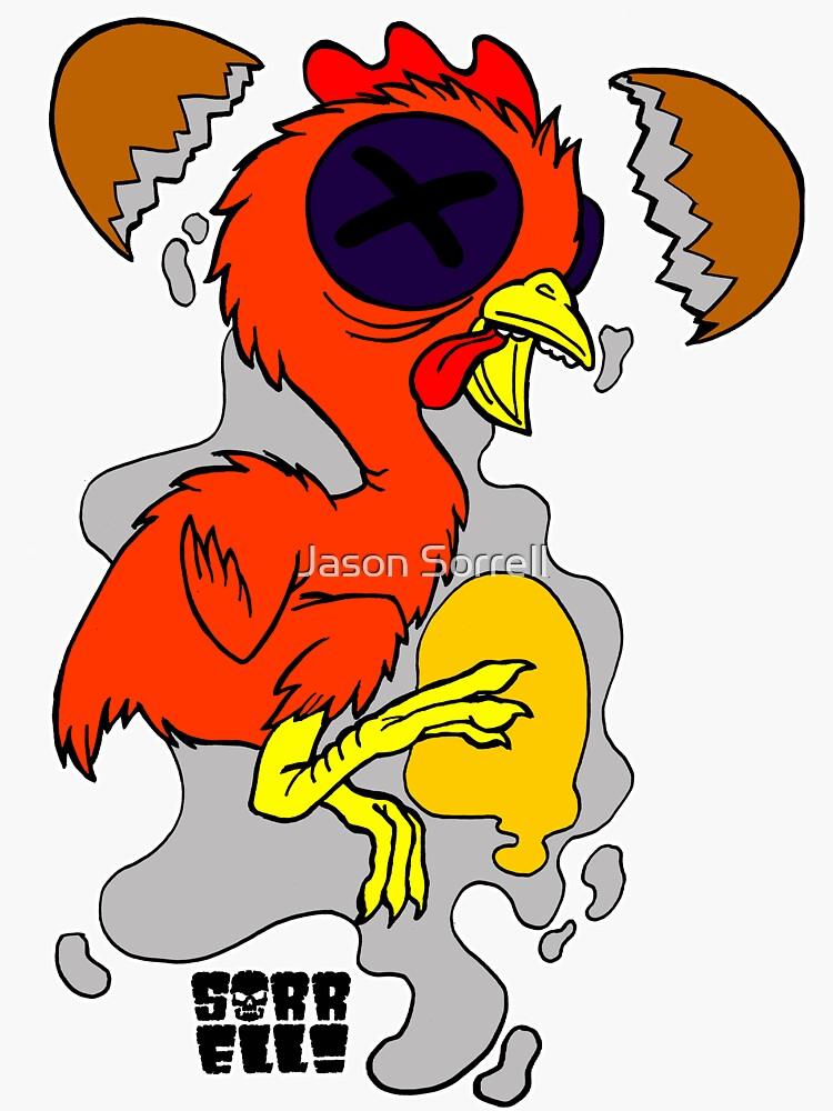 Chicken Fetus by jasonsorrell