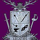 Silver Legacies Crest [Purple] by LegaciesLARP