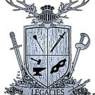 Silver Legacies Crest [Backs and Whites] by LegaciesLARP