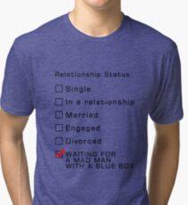 Blue Box Tri-blend T-Shirt
