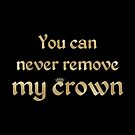 Bilal Hassani - Roi  ESC 2019 - You can never remove my crown (BGold) by talgursmusthave