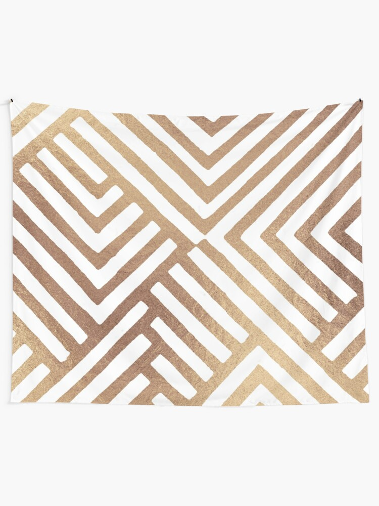 Alternate view of Geometric DESMOS-Goldy Tapestry