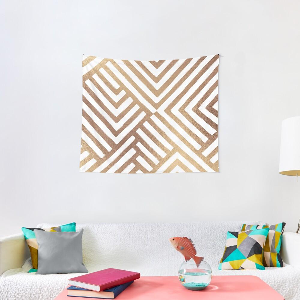 Geometric DESMOS-Goldy Tapestry