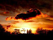 Theale Sunset by Roddy Atkinson