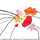 Defaming poppies - Achter Klap Roos by JannaKool