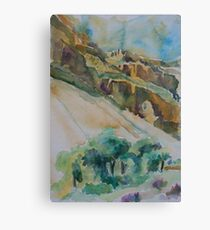 Bright Angel Trail of the Grand Canyon Canvas Print