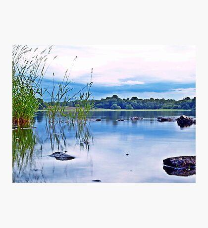 Reflections On Lake Menteith, Scotland.  Photographic Print